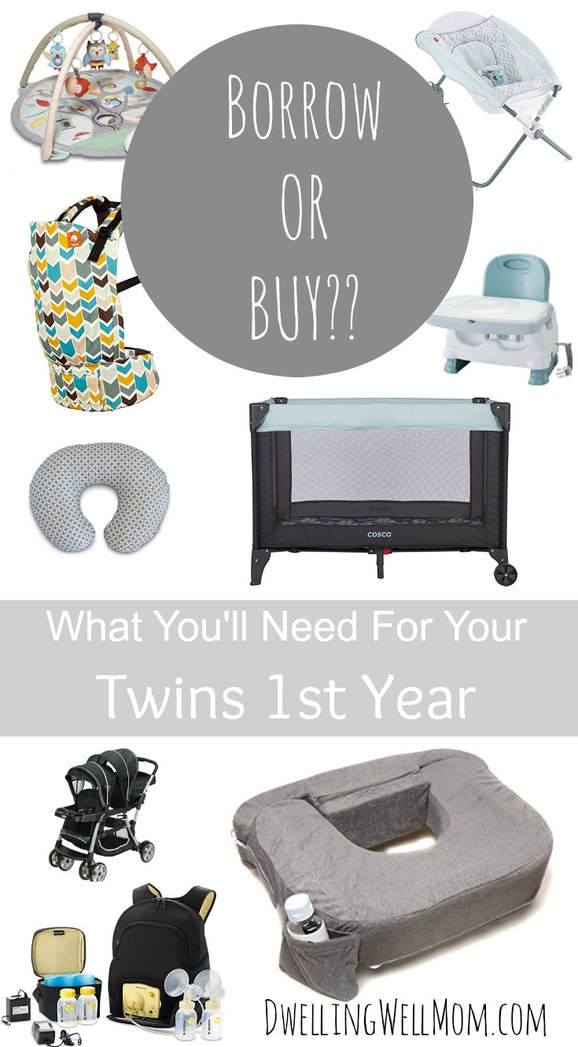 You don't need two of everything | Surviving My Twin Pregnancy | Dwelling Well Mom Blog